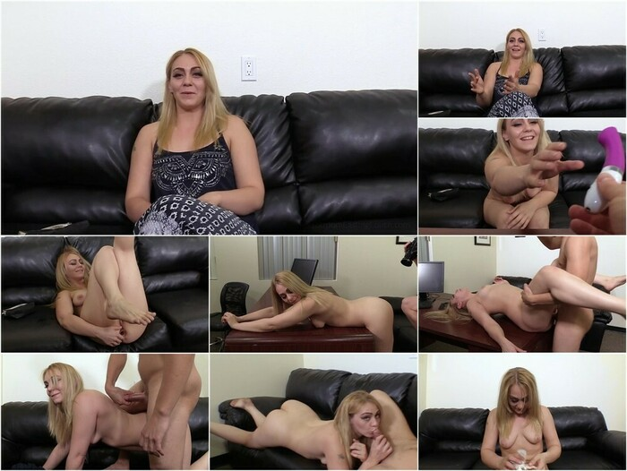 Backroom Casting Couch – Amber