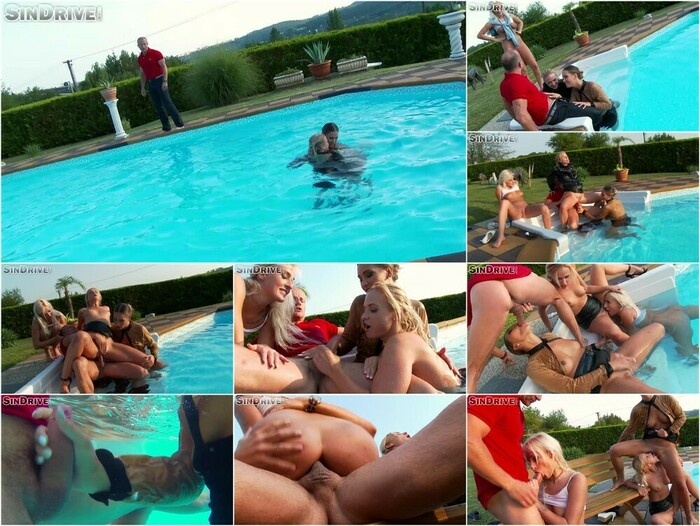 Upper Class Fuck Fest – Dip In The Pool For Some Dick!