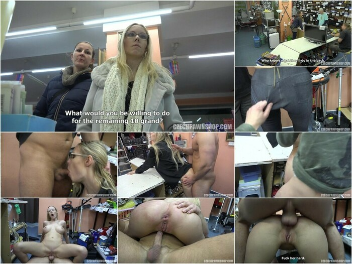 Czech Pawn Shop – The anal bombshell