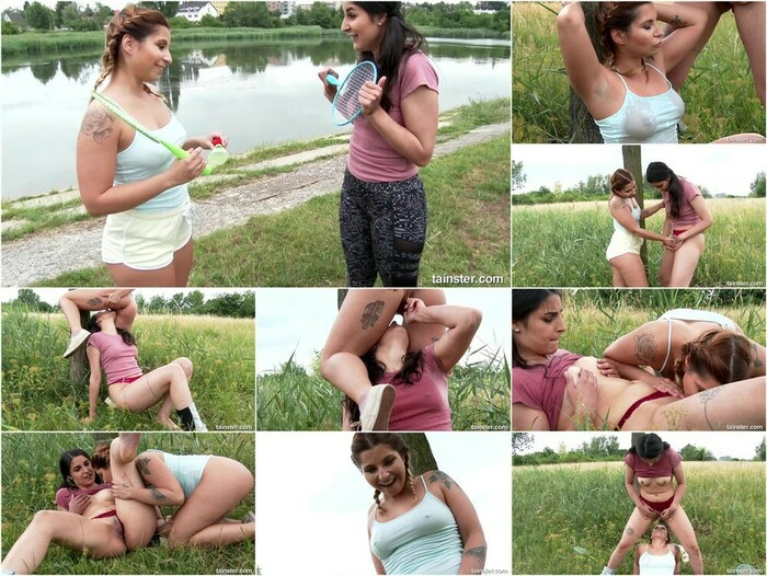 Pissing In Action – Sporty Babes Get Wet With A Game Of Watersports