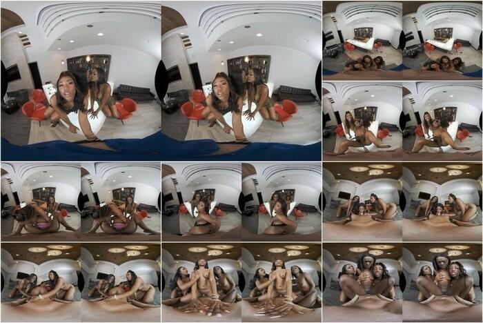 Naughty America VR –  Ana Foxxx, Chanell Heart & Evi Rei