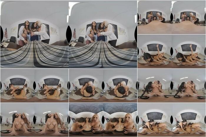 Naughty America VR – Diamond Kitty, Nina Elle & Tia Cyrus