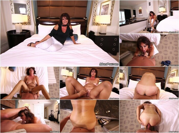Husband Facials Wife After Watching Her Fuck On Mompov