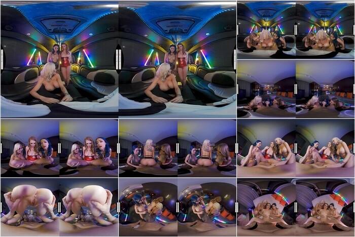 Naughty America VR – Ashley Lane, Jewelz Blu & Kenzie Taylor