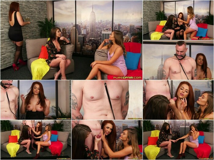 Pure CFNM – Honour May, Mandy Foxxx & Roxy Roxanne
