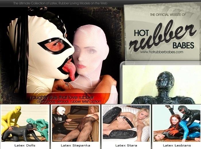HotRubberBabes.com – SITERIP