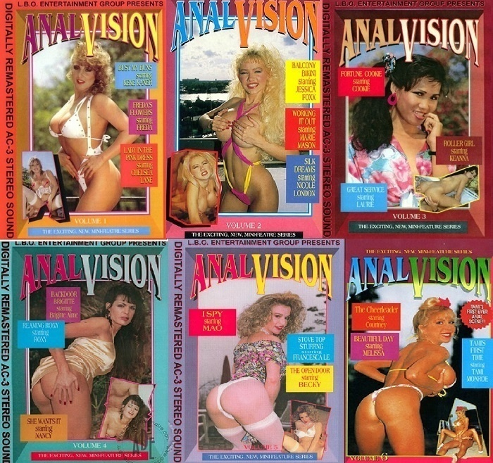 Anal Vision – DVDpack