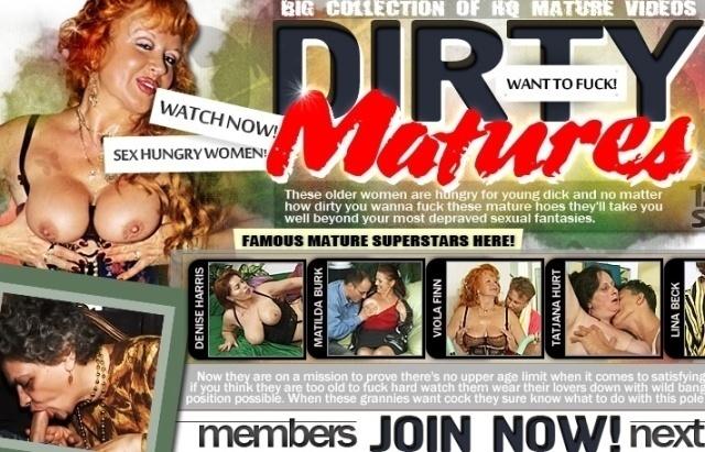 DirtyMaturesSex.com – SITERIP