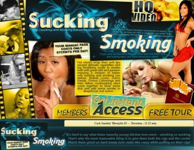 SuckingAndSmoking.com – SITERIP
