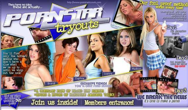 PornstarTryouts.com – SITERIP