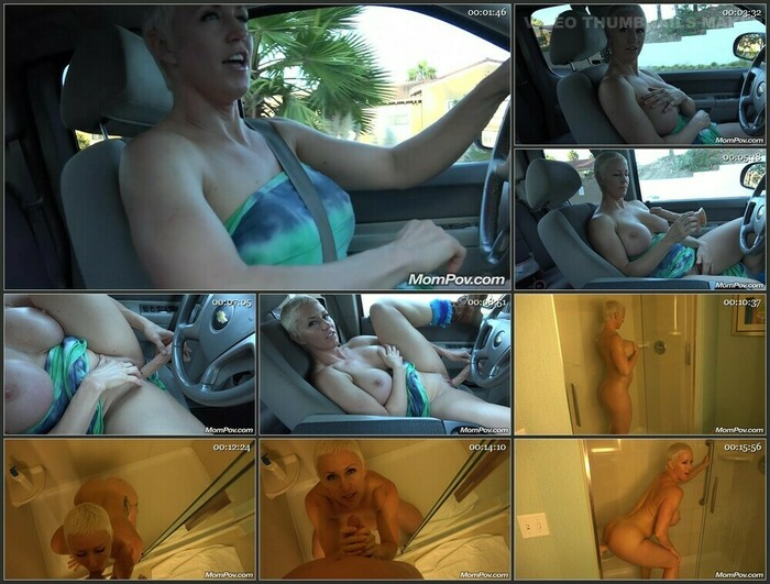 Naomi – Blonde Pixie Amazing Super MILF BTS (HD)