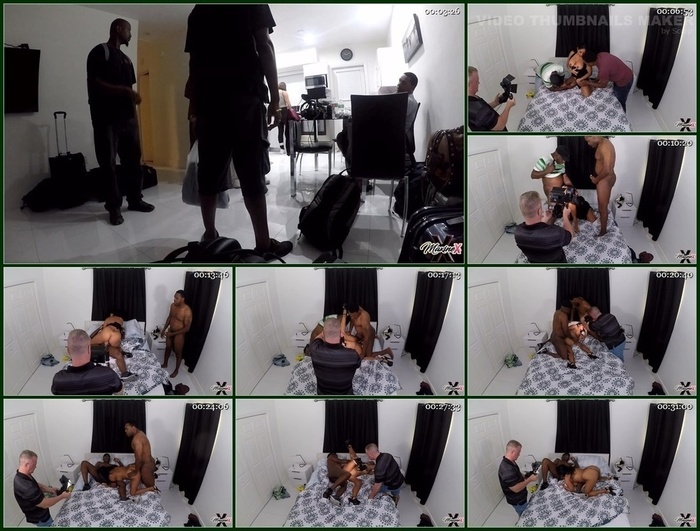 Maxine X – BBC Creampie Threesome GoPro