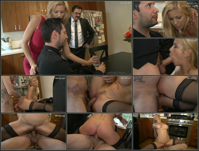 Alexis Fawx Seduced By The Boss - Drooling Rough Wife sr