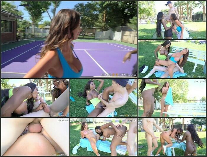 Diamond Jackson & Nikki Benz ,Brunette,Bubble Butt,Ebony,Femdom,MILF,Sports,Threesome, 720p (HD)