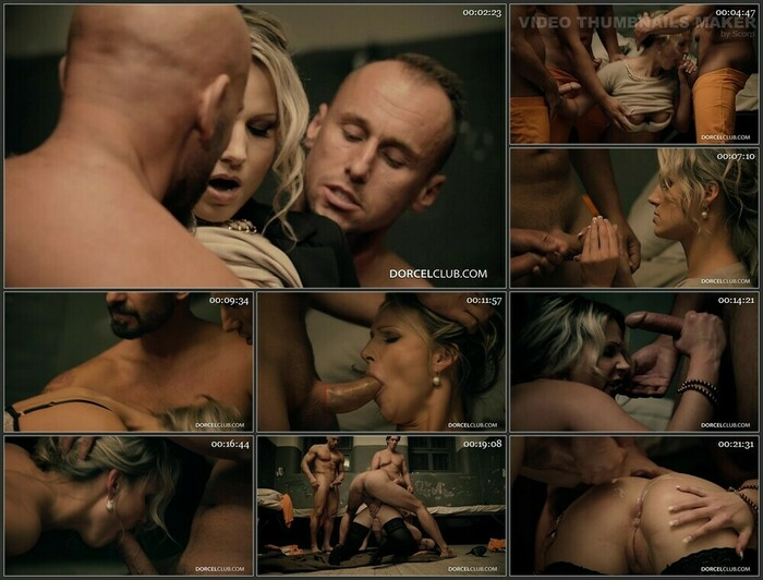 Samantha Jolie – Fucked Hard By 3 Inmates (Full HD)