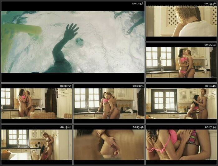 Tracy Lindsay & Vanessa Decker – Water Game Part 1 (HD)