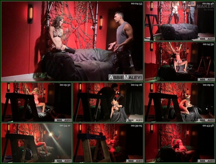 Abbie Maley – BTS With Rob Piper
