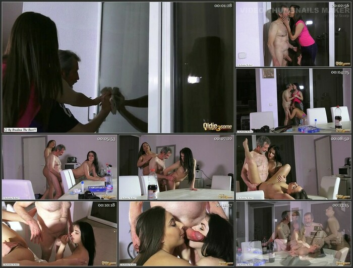 Carla Crouz, Kittina Ivory – Two Dirty Girls (HD)