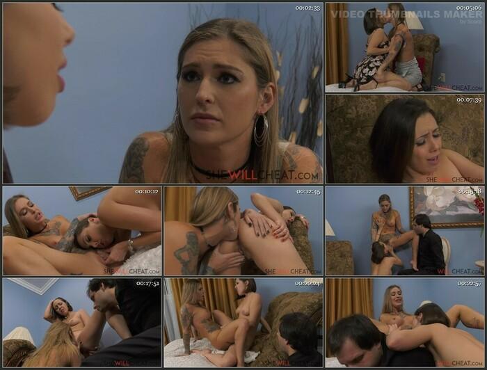 Jenna Sativa, Kleio Valentien – Kleio Valentien fucks Jenna Sativa in front of her cuckold husband (Full HD)