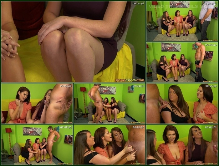 Pure CFNM – Effie Diaz, Sasha Blue & Violet Whisper