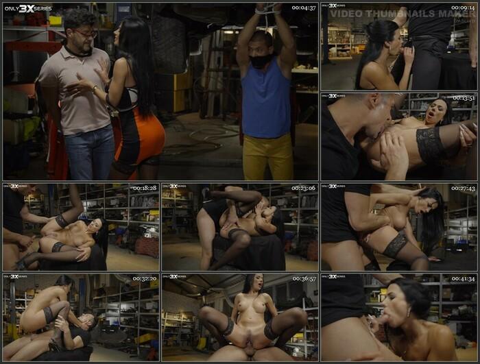 Shalina Devine Episode 8 – Dirty girl in a garage (Full HD)