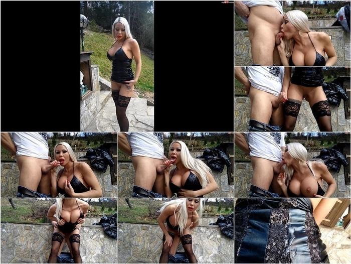 MyDirtyHobby – DanielaCoraHansson aka Daniela Hansson in Im Wetlook outfit geblasen  von hinten gefickt vollgespritzt