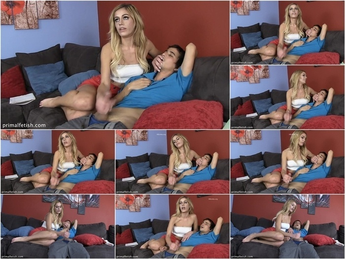 Primals HANDJOBS – Aspen Celeste – Hand-Over-Mouth Putting a Boy in His Place