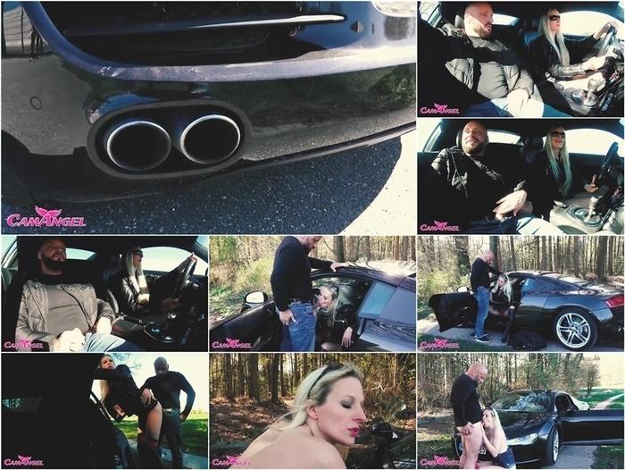 MyDirtyHobby presents CamAngel – Audi R8 Probefahrt und Outdoor Sex