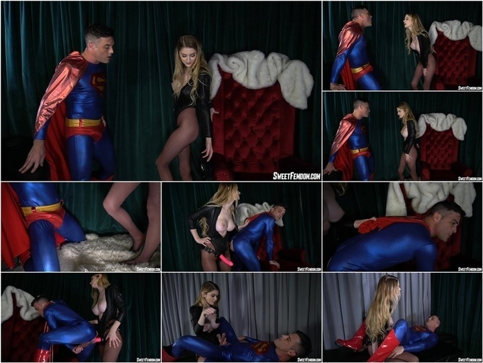 Sweetfemdom – Bunny Colby, Lance Hart – Evil Bunny Colby VS Superman