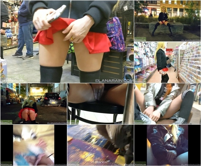 Manyvids Webcams Video presents Girl LanaRain – Public Masterbation with Cum Lube Final