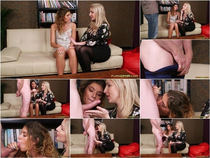 PureCFNM – Candice Demellza and Georgie Lyall in Step Mum Humiliation