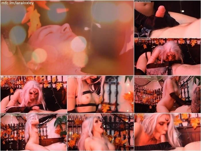 ManyVids presents Lara Loxley in 13 Dark Elf Dominates Cock Swallows