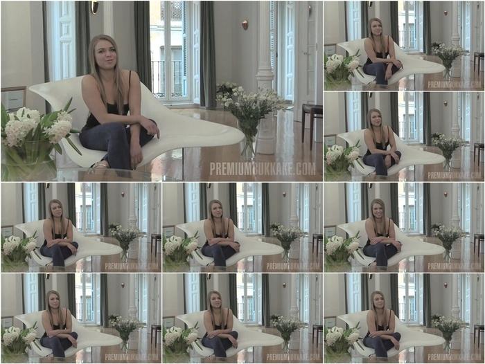 PremiumBukkake presents Jane in 2 interview