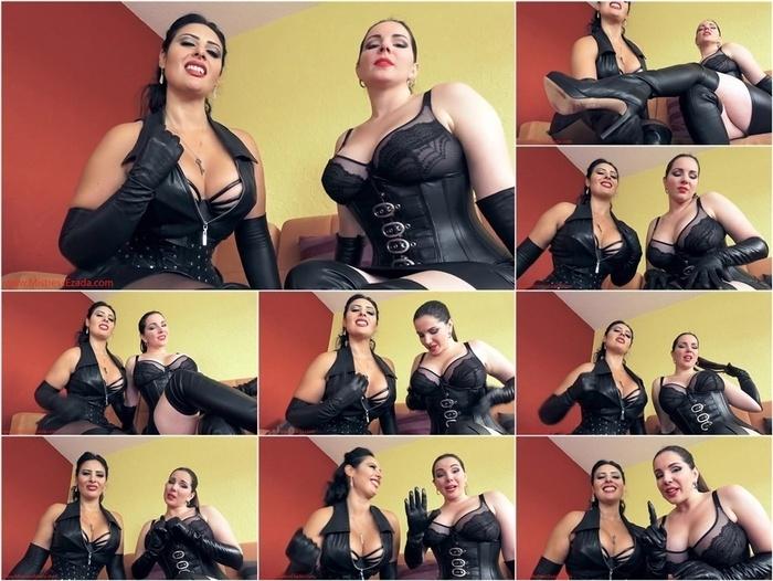 Ezada Sinn, Alexandra Snow – Leather JOI Game