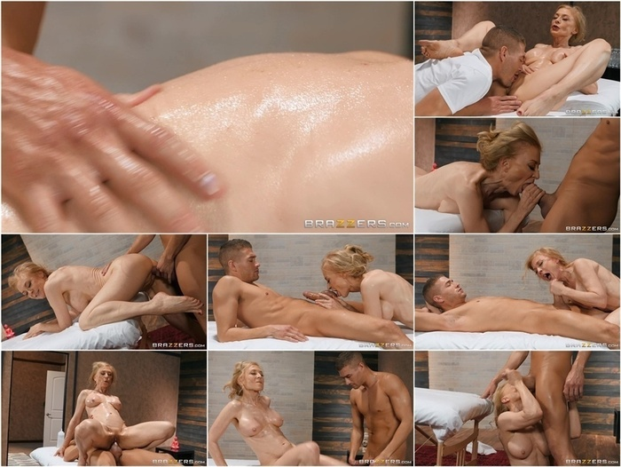 Brazzers – DirtyMasseur presents Nina Hartley in Milfy Massage –