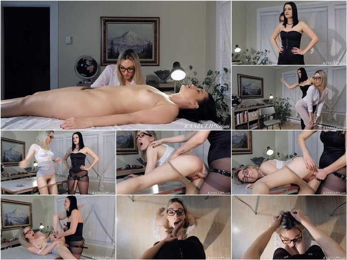 ManyVids presents kimberly kane in FEMDOMENSTEIN! – A Lez Sexbot Feature