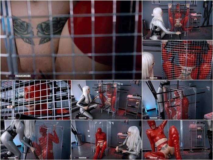 Latex Porn – 7810 – Encased Bondage 7 – Freaky Girls, Venus Black & Liz Rainbow