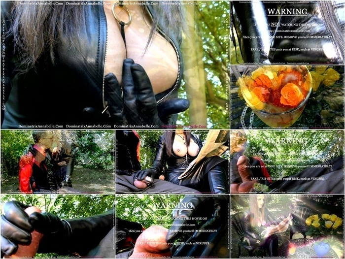 Dominatrix Annabelle – Just Leather! And