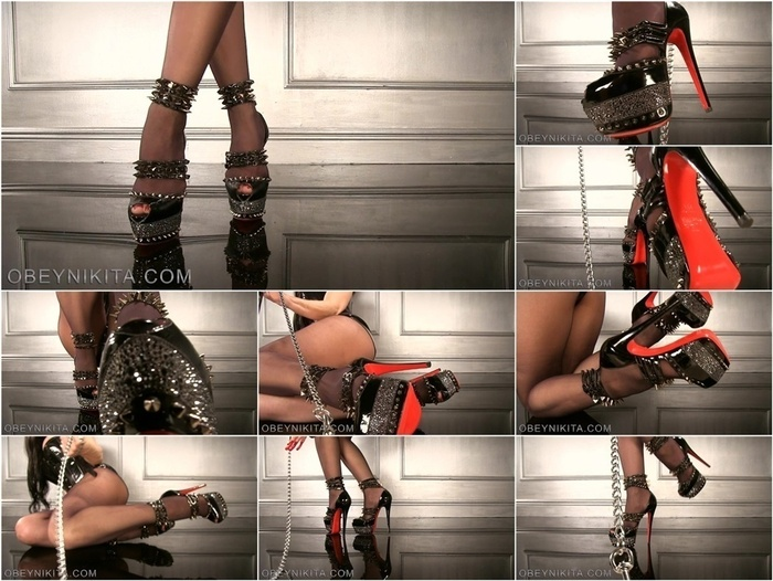 Mistress Obey Nikita in SSPOV Isolde Pumps