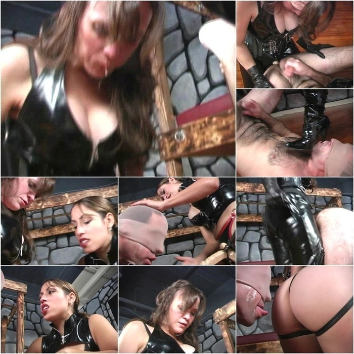 RUTHLESSVIXEN presents Mistress AIE in Strapon With Cheyenne