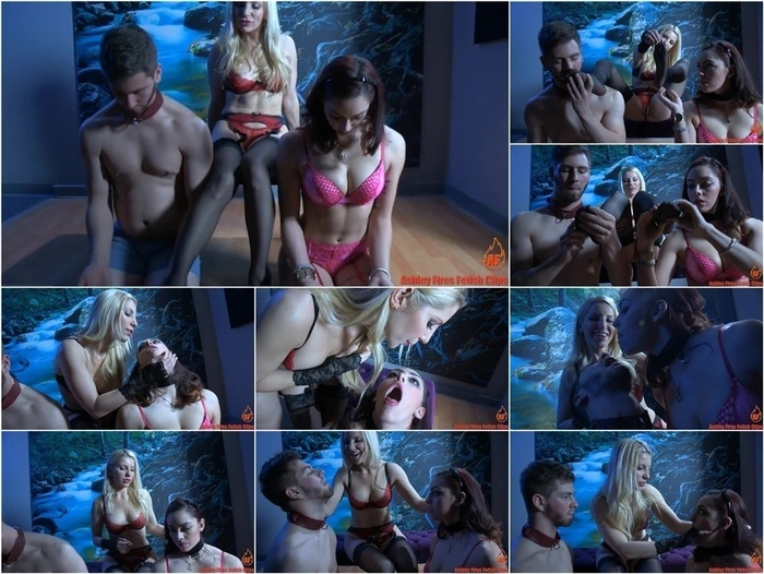 Ashley Fires Fetish Clips presents Ashley Fires & Chi in Couples Retreat – Tonights Slave – Part 1