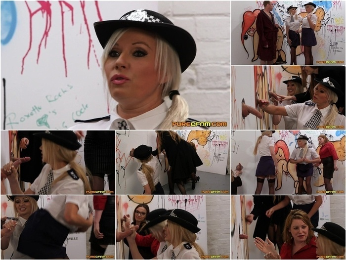 Pure CFNM – Cadets Initiation. Starring Amber Jayne, Amber West, Kylie Nymphette and Michelle Thorne