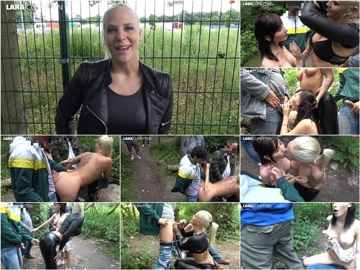 MyDirtyhobby presents Lara-CumKitten – Parkplatz User Treffen – Die XXL Sperma Fick Party