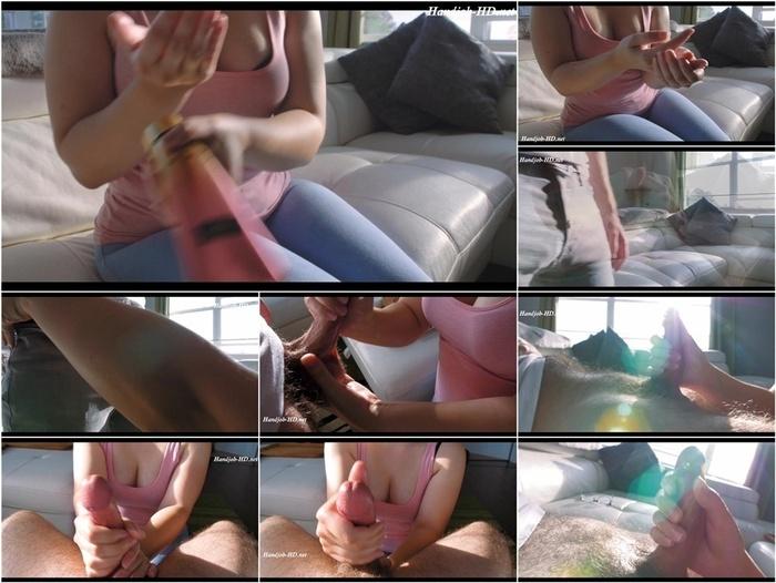 Hot Brunette Hand Job POV – Kitten Kiara CB