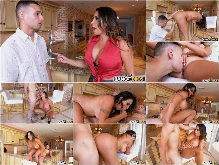 MomIsHorny presents Julianna Vega in Teaching Him The Game Led To Hot Sex –