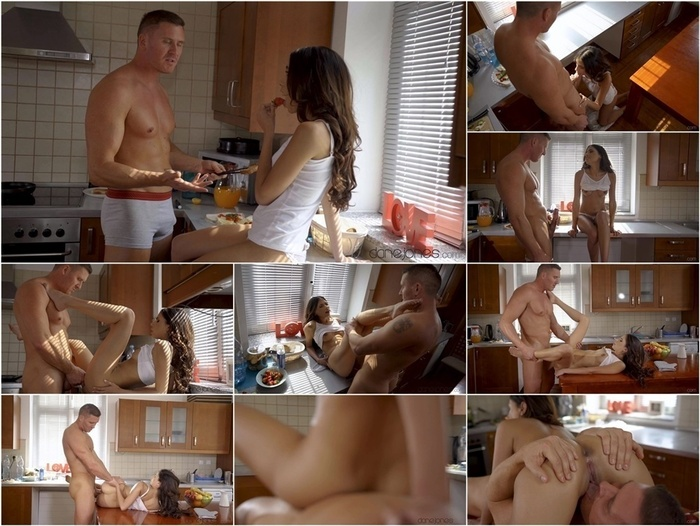 DaneJones presents Baby Nicols – Brunette Latina seduces a stranger –