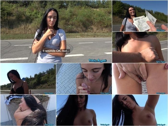 PublicAgent presents Katie Dee in Firm assed hottie fucked outdoors –
