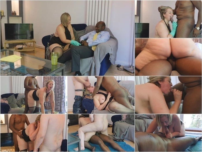 ManyVids presents b1ackwood – Wife fucks hubbys black boss