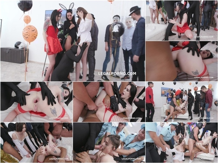LegalPorno presents Anal Halloween 1 Anna de Ville shows everyone how to handle multiple dicks, Balls Deep Anal, DAP, Gapes GIO1256 –