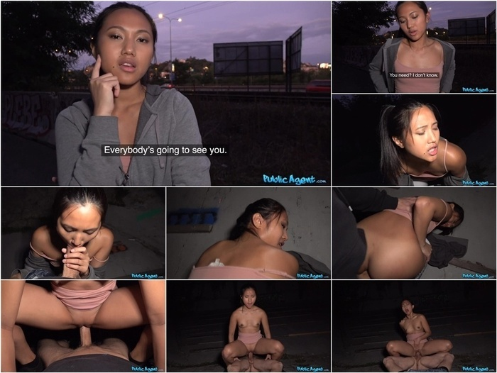PublicAgent presents May Thai in Agent tastes first Asian pussy –